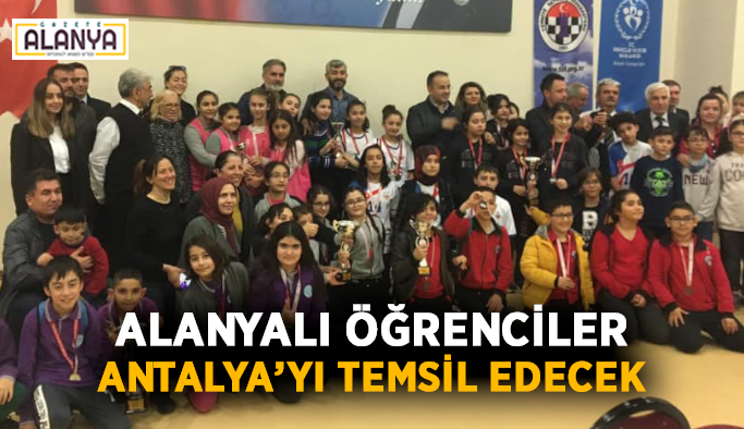 Alanyalı öğrenciler Antalya'yı temsil edecek