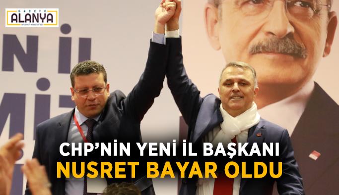 CHP'nin yeni il başkanı Nusret Bayar oldu