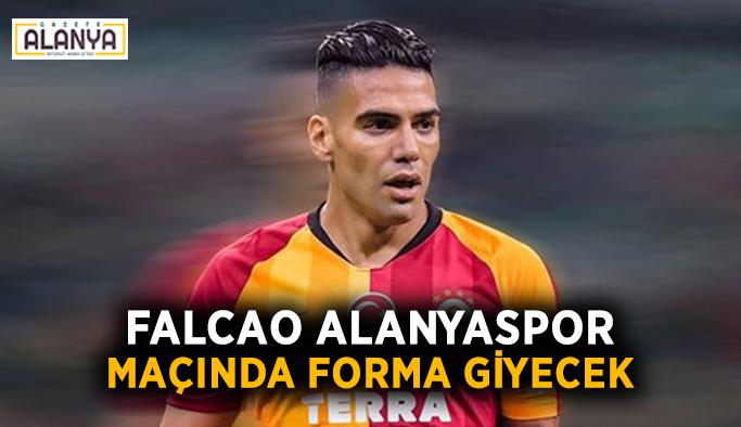 Falcao Alanyaspor maçında forma giyecek