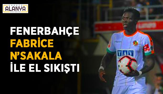 Fenerbahçe, Fabrice N'Sakala ile el sıkıştı