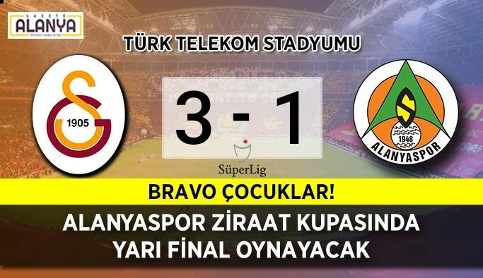 Galatasaray'ı kupada saf dışı yaptık