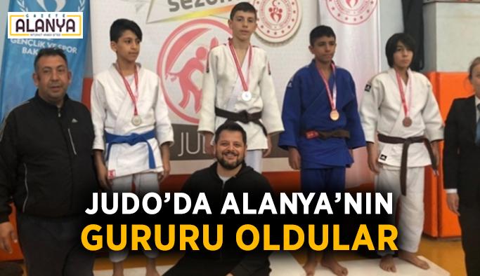 Judo'da Alanya'nın gururu oldular