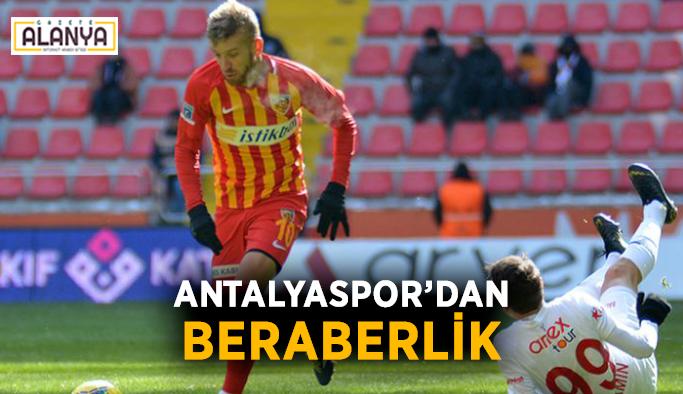 Kayserispor - Antalyaspor: 2 - 2