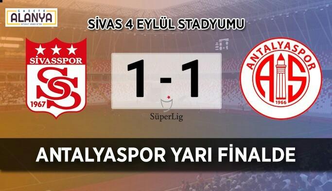 Kupada Alanyaspor'un rakibi Antalyaspor oldu
