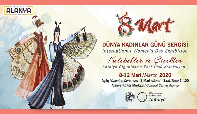 Alanya Belediyesi'nden Kadınlar Günü'ne özel sergi