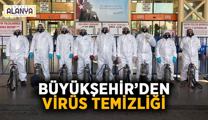 Büyükşehir'den virüs temizliği