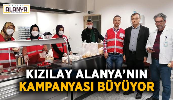Kızılay Alanya'nın kampanyası büyüyor