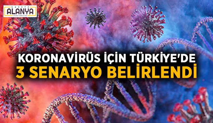 Koronavirüs için Türkiye'de 3 senaryo belirlendi