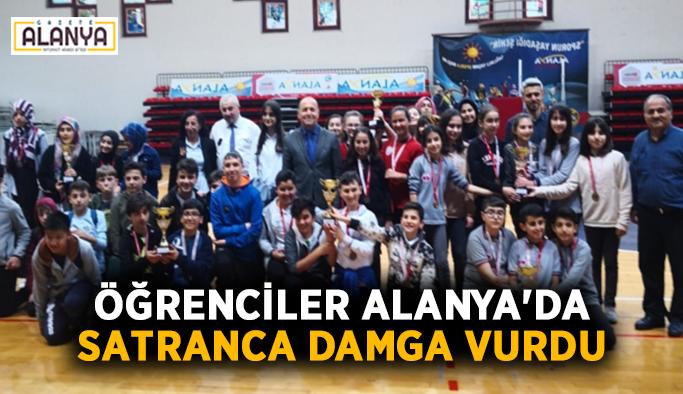 Öğrenciler Alanya'da satranca damga vurdu