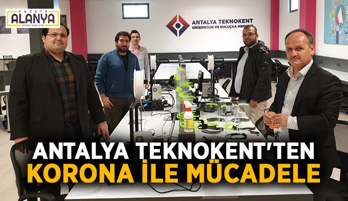 Antalya Teknokent'ten korona ile mücadele