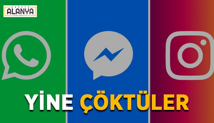 Yeter artık! Whatsapp ve Facebook bugün yine çöktü