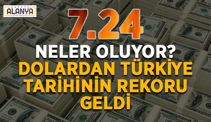 Neler oluyor? Dolardan Türkiye tarihinin rekoru geldi