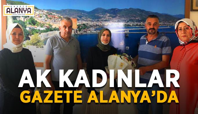 AK Kadınlar Gazete Alanya'da