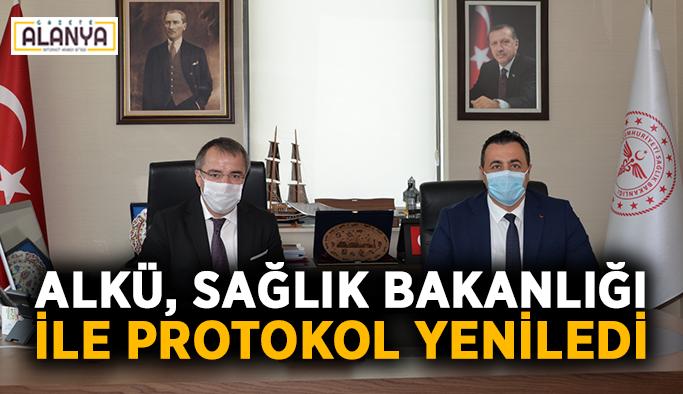 ALKÜ, Sağlık Bakanlığı ile protokol yeniledi