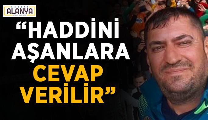 """Başkan Aslan: """"Çavuşoğlu'nun yanındayız"""""""