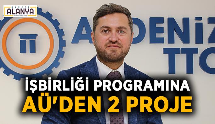 İşbirliği programına AÜ'den 2 proje