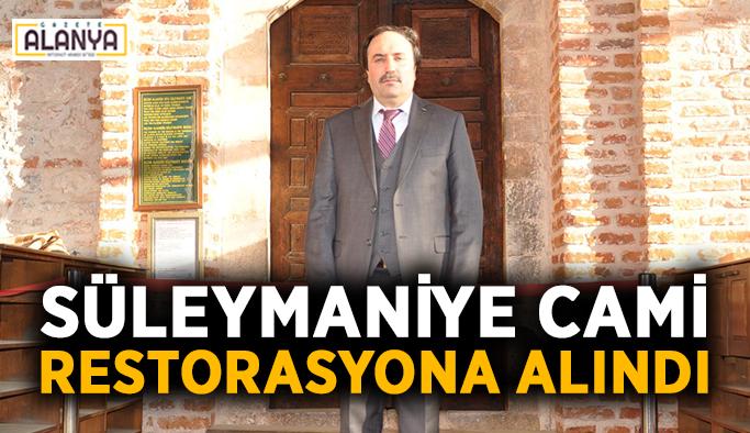 Süleymaniye Cami restorasyona alındı