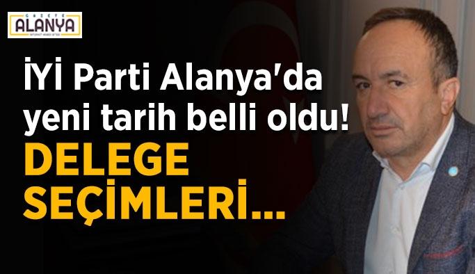 İYİ Parti Alanya'da yeni tarih belli oldu! Delege seçimleri…