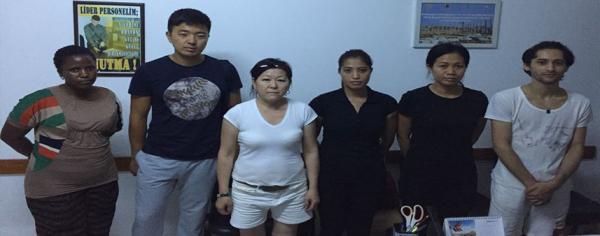 5 yıldızlı otele kaçak işçi baskını