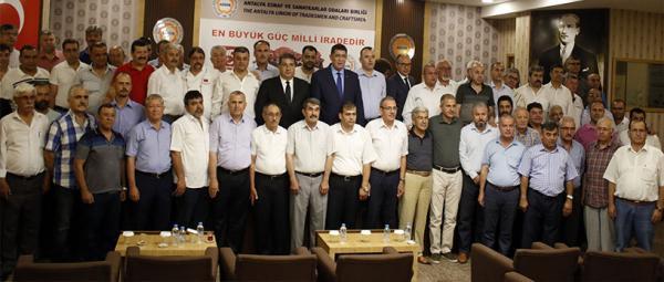 75 esnaf oda başkanın 15 Temmuz açıklaması