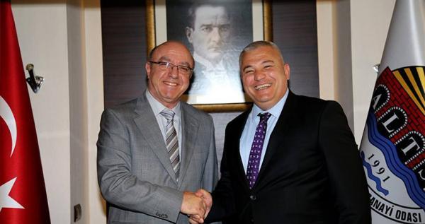 AEDAŞ Genel Müdürü, Şahin'le çalışmaları görüştü