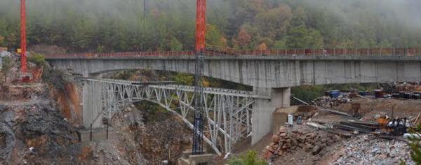 Ak Köprü\\\\\\\'nün inşaatı tamamlandı