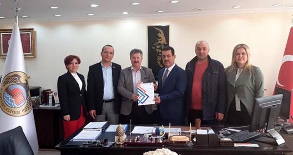 Akdeniz Belediyeler Birliği'nden Vekil Baysal'a ziyaret