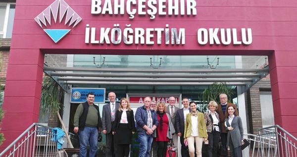 Alanya Bahçeşehir Koleji'nin  Alman Ziyaretçileri