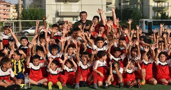Alanya Belediyesi Yaz spor okulları dolu dizgin