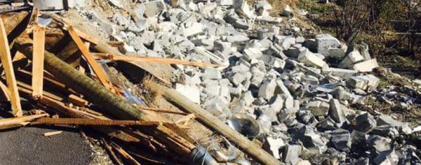 Alanya\\\\\\\'da fırtına minareyi yıktı: Köylüler ayağa kalktı