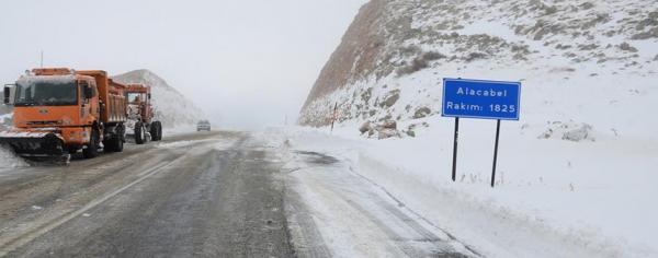 Alanya-Konya yolu kapandı