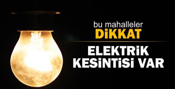Alanya\\\\\\\'ya elektrik kesilecek !