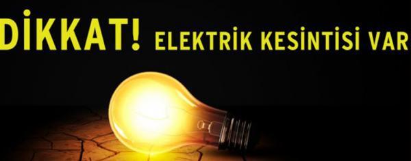 Alanya'da belirli bölgelerde elektrik kesilecek