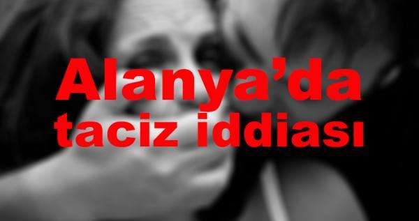 Alanya'da bir kadına taciz iddiası