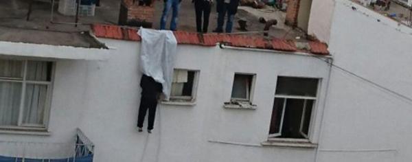 Alanya'da şok intihar: Kendini bacaya astı
