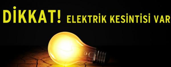 Alanyalılar dikkat: Elektriğiniz kesilecek