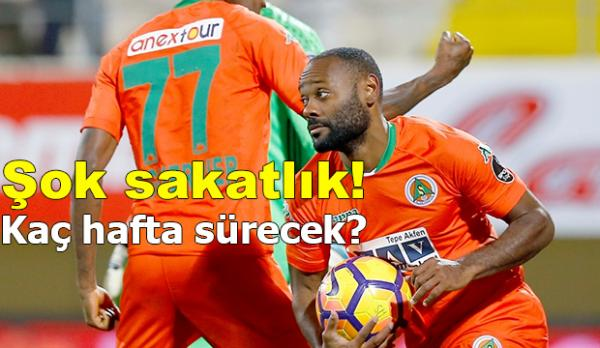 Alanyaspor'da zorlu maç öncesi şok sakatlık