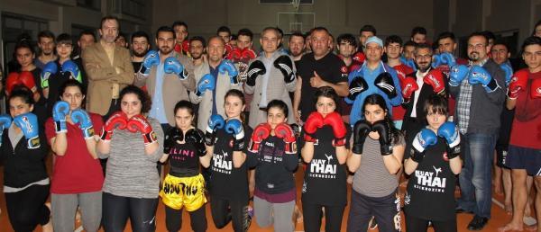 Alkü, Muay Thai Türkiye Şampiyonası katılıyor