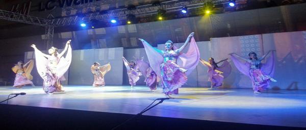 Anadolu Ateşi dans stüdyosu Antalyada açıldı