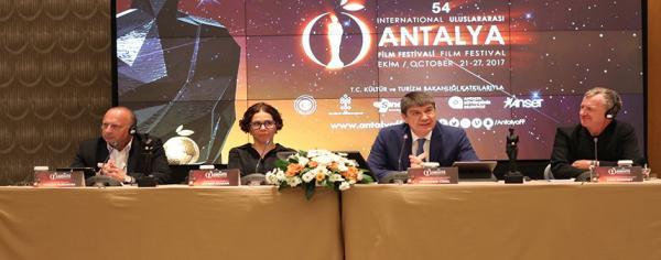 Antalya Film Festivali toplantısı yapıldı
