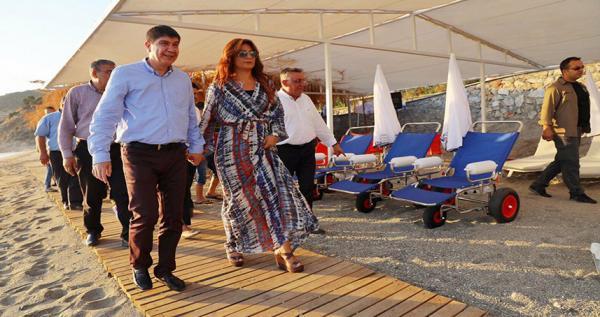 Aysultan Kadınlar Plajı açıldı