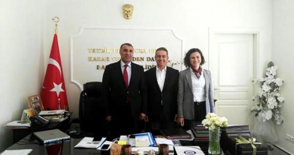 Bahçeşehir'den Alanya Kaymakamı'na ziyaret