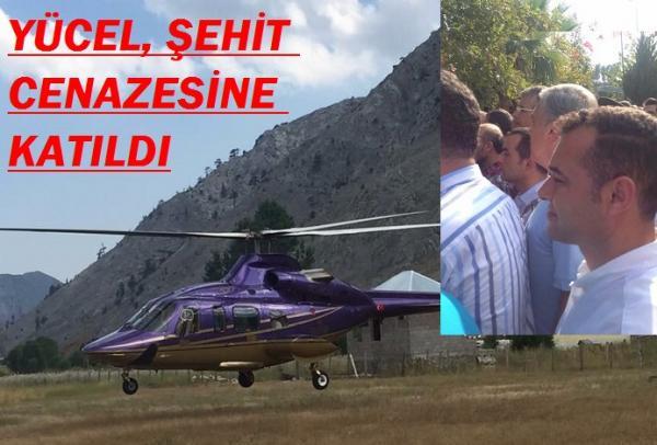 BAŞKAN YÜCEL, SERİK'E HAREKET ETTİ