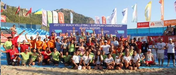 Bayanlar plaj voleybolunda Finlandiya Şampiyon