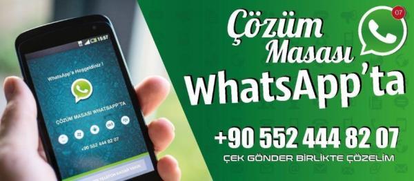 Belediye 'Whatsapp Çağrı Hattı'yla daha hızlı