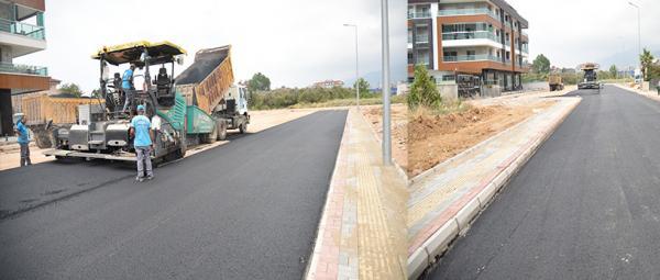 Belediyeden yeni hastanesi çevresine asfalt