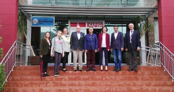 Büyükelçi, Bahçeşehir Alanya'ya konuk oldu