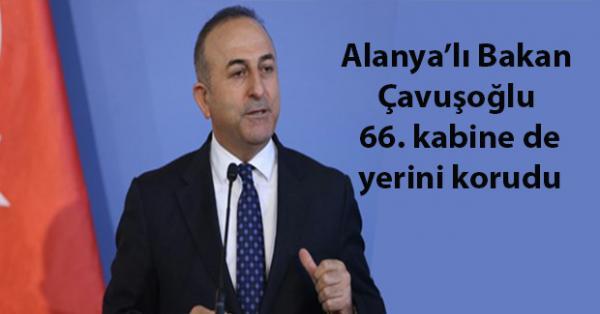 Çavuşoğlu, Alanyanın medarı iftiharı