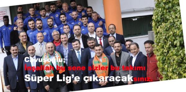 Cavuşoğlu Alanyaspordan umutlu