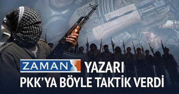 CEMAATTEN PKK YA İLGİNÇ TAKTİK